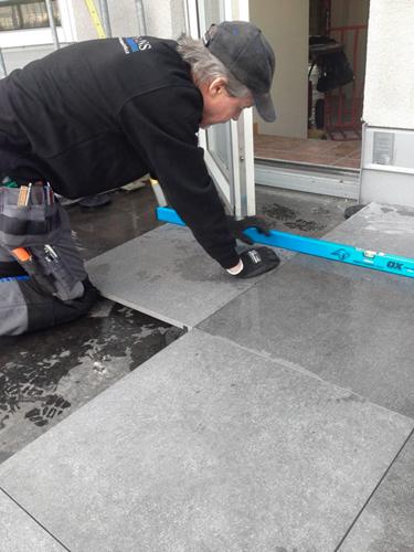 Klinker utomhus - flytande golv - Tips och råd - Konradssons Kakel : uteplats plattor : Uteplats